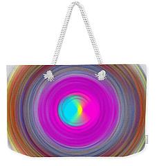 Charcoal Spiral Weekender Tote Bag by Prakash Ghai