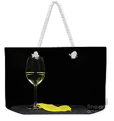 Weekender Tote Bag featuring the photograph Chardonnay Time by Kennerth and Birgitta Kullman