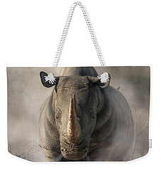Charging Rhino Weekender Tote Bag