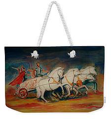 Chariot Weekender Tote Bag