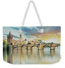 Charles Bridge Weekender Tote Bag by Maciek Froncisz