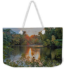 Charles River Sunset Weekender Tote Bag by Rita Brown