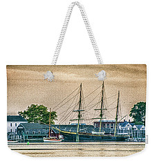Charles W. Morgan #1 Weekender Tote Bag