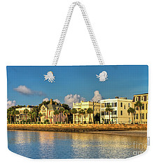 Charleston Battery Row Of Homes  Weekender Tote Bag