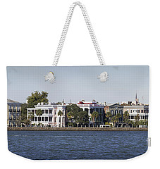 Charleston Battery Row Panorama 2 Weekender Tote Bag