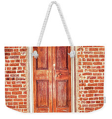 Charleston Doors 1 Weekender Tote Bag