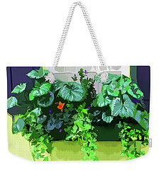 Charleston Flowerbox Weekender Tote Bag