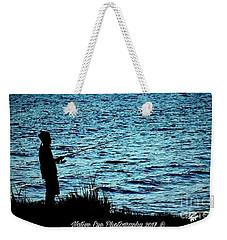 Charleston Morning Fishing Weekender Tote Bag