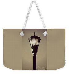 Charleston Morning Streetlight Weekender Tote Bag