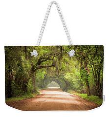 Charleston Sc Edisto Island Dirt Road - The Deep South Weekender Tote Bag