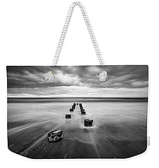 Charleston Sc Folly Beach Seascape Photography Weekender Tote Bag