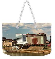 Charleston West Virginia Weekender Tote Bag by L O C
