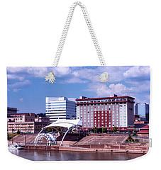 Charleston West Virginina Weekender Tote Bag by L O C