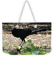 Charleston Wildlife. Black Bird Weekender Tote Bag