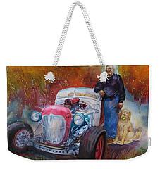 Charlie And Bella's Ride Weekender Tote Bag