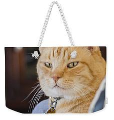 Charlie Cat Weekender Tote Bag
