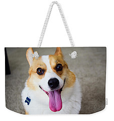Charlie The Corgi Weekender Tote Bag