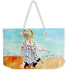 Charlotte By The Lake Weekender Tote Bag
