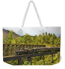 Charlotte Harbor And Northern Railroad Weekender Tote Bag by John Black