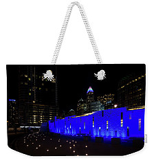 Charlotte, North Carolina From Romare Bearden Park Weekender Tote Bag by Serge Skiba
