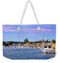 Charlottetown Harbor Weekender Tote Bag