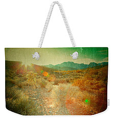 Weekender Tote Bag featuring the photograph Charm by Mark Ross