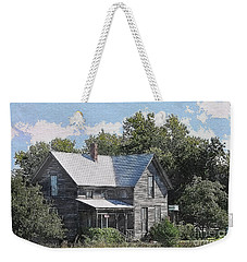 Charming Country Home Weekender Tote Bag