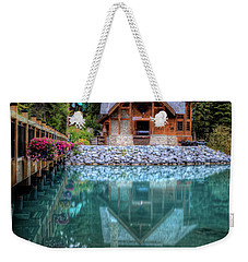 Charming Lodge Emerald Lake Yoho National Park British Columbia Canada Weekender Tote Bag