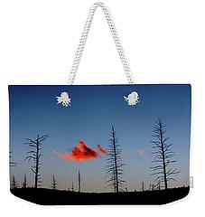 Charred Sunset Weekender Tote Bag