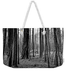Charred Trees Weekender Tote Bag