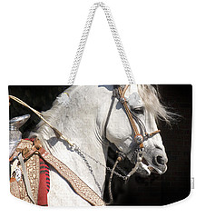 Charro Stallion Weekender Tote Bag by Jim And Emily Bush