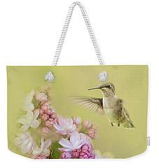 Chasing Lilacs Weekender Tote Bag