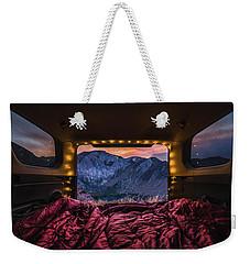 Chasing Sunset Weekender Tote Bag
