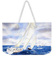 Chasing The Fleet Weekender Tote Bag