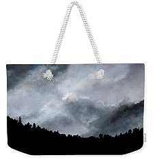 Chasing The Storm Weekender Tote Bag