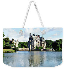 Weekender Tote Bag featuring the photograph Chateau De La Bretesche - Missillac, France by Joseph Hendrix