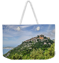 Chateau D'eze On The Road To Monaco Weekender Tote Bag