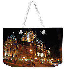 Chateau Frontenac Quebec 2008 Weekender Tote Bag by John Schneider