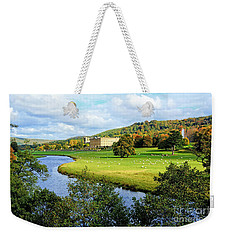 Chatsworth House View Weekender Tote Bag