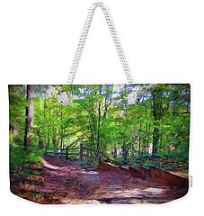Chattahoochee Nature Trail Weekender Tote Bag