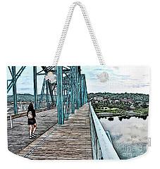 Chattanooga Footbridge Weekender Tote Bag