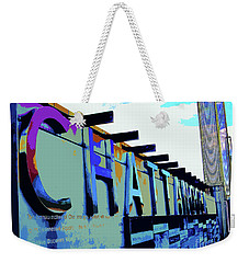 Chattanooga Tennessee Sign Weekender Tote Bag
