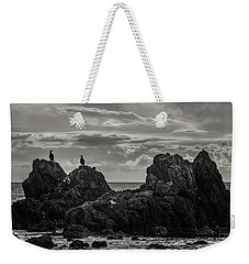 Chatting On Rocks Weekender Tote Bag
