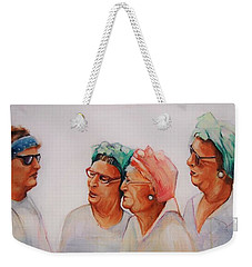 Paradise Trailer Park Welcoming Committee Weekender Tote Bag