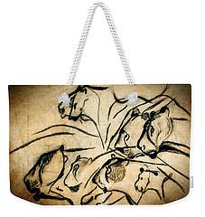 Chauvet Cave Lions Weekender Tote Bag