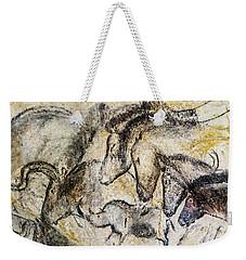 Chauvet Horses Aurochs And Rhinoceros Weekender Tote Bag