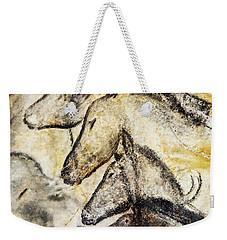 Chauvet Horses Weekender Tote Bag