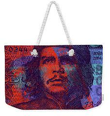 Che Guevara 3 Peso Cuban Bank Note - #3 Weekender Tote Bag
