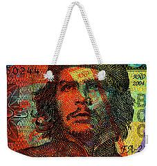 Che Guevara 3 Peso Cuban Bank Note - #1 Weekender Tote Bag
