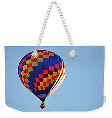 Weekender Tote Bag featuring the photograph Checkerboard by AJ Schibig